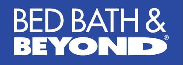Bed Bath and Beyond logo, a retailer partner of Authentic Agility Games